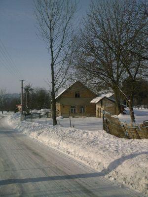 2010-zimní motiv-chalupa