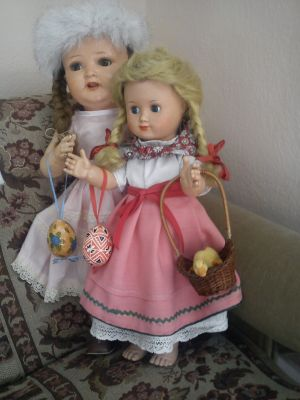 Dvě panenky