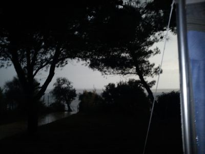 bouřka v plném proudu