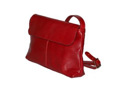 kabelka červená