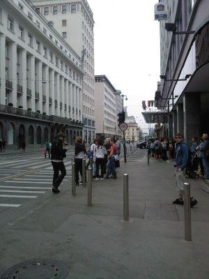 Lublaň-hlavní třída