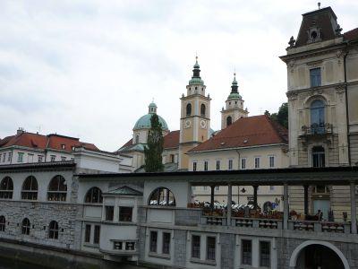 Lublaň-Plečnikova trg
