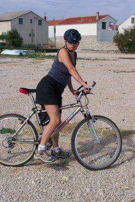 nabručená duocyklista