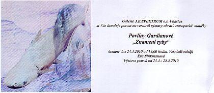 Pavlína Gardiánová-4/2010