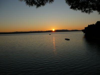 východ slunce 6:45