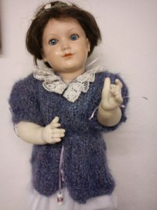 Panenka - svetřík s kraječkou