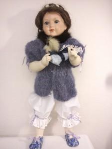 Panenka - spodní prádlo, světřík, botičky